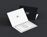 """EICHHOLTZ"" invitation card"