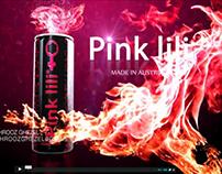 Pink LiLi Energy Drink