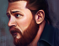 tom hardy (study + steps )