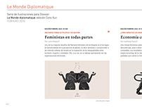 Ilustraciones para Le Monde Diplomatique