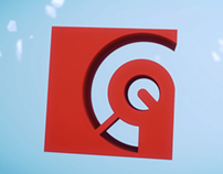 Pixel Commando // Logo animation