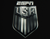 USA SOCCER on ESPN // REBRAND