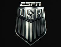 USA SOCCER on ESPN // REBRAND