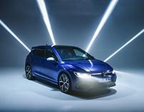 THE NEW GOLF VIII R for Volkswagen R