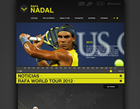 Rafa Nadal Official Website