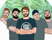 Serious Thing Illustration
