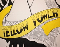 YELLOW POWER, WALL DESIGN