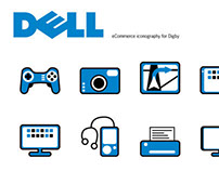 eCommerce icons for Dell