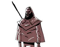 Character Design Shuffle #1