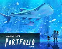 CHORKUNG's Portfolio 2019