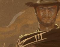 Ilustra Clint Eastwood