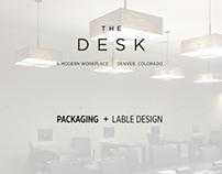 The Desk  |   Packaging + Label Design