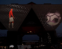 Tokyo Big Sight Projection Mapping 「Sporting Spirit」
