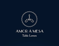 Amor à Mesa - Table Lovers Identity