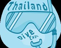 Thailand dive expo (Logo contest)