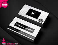 Personal Business Card PSD Template