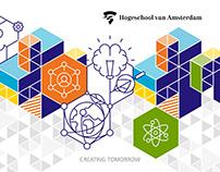 Brand identity — Hogeschool van Amsterdam (HvA)