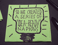Forbes event napkins