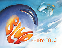 Children's book illustration - A Blue Fairy Tale