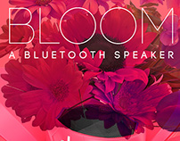 Bloom, a Bluetooth Speaker