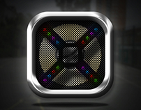 80's Speaker Icon