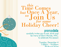 Member Holiday Party Email Invites