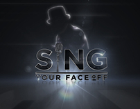 """Sing Your Face Off"" TV Show Style Frames"