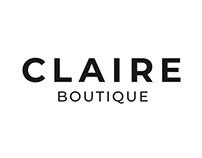Claire Boutique - Branding