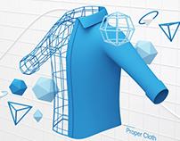 Proper Cloth - Algorithms