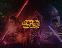 Star Wars Webdesign