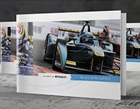 Brochure & web • Renault e.dams