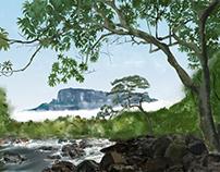 Digital Painting Practice _ Mount Roraima