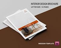 Printable Interior Designer Brochure Template