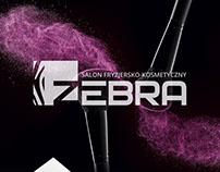 Logo design. Identity. Beauty salon Zebra