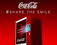 COCA COLA #Share the smile