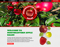 Northeastern Apple Sales Website and Branding