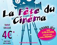 """L'Affiche """"LA FÊTE DU CINÉMA"""" par GFXP!"""