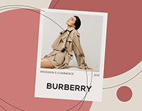 Burberry | redesign