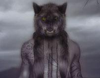 Hewolf por la noche