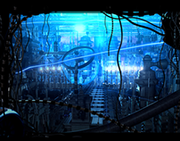Machine City Blue