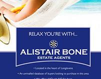Alistair Bone Estate Agents Summer Campaign