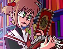 A Card Captor Sakura Scene Re-Draw