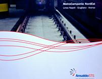 Brochure di presentazione nuova commessa | AnsaldoSTS