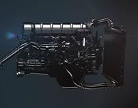 Renault Trucks // Engine animation