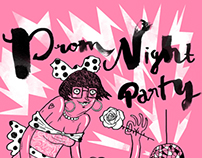 Prom Night Party :: Silk Screen Poster