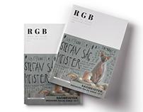 RGB Typography Magazine: Stefan Sagmeister
