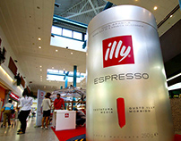 Stand illy - shopping centre