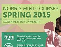 Norris Mini Courses Spring 2015