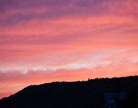 Der Himmel über Großheubach