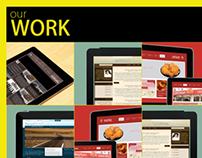 Personal one page portfolio, CV